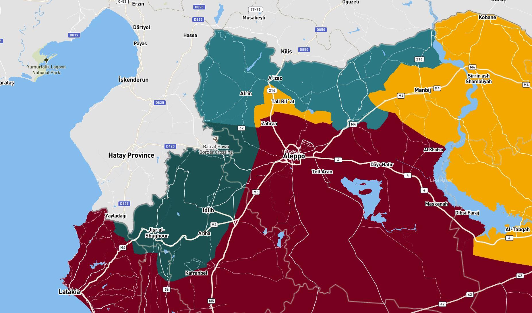 Северо-Восточная Сирия. Конец марта 2021.